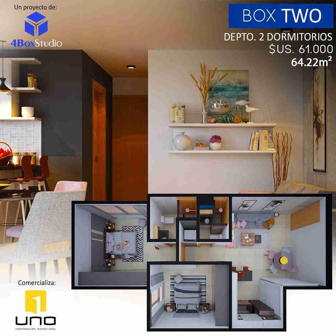 10 Box One C, PreVenta Departamentos Monoambiente, 1 y 2 Dormitorios y Locales Comerciales Edificio Blue Box, Av Banzer, Zona Norte