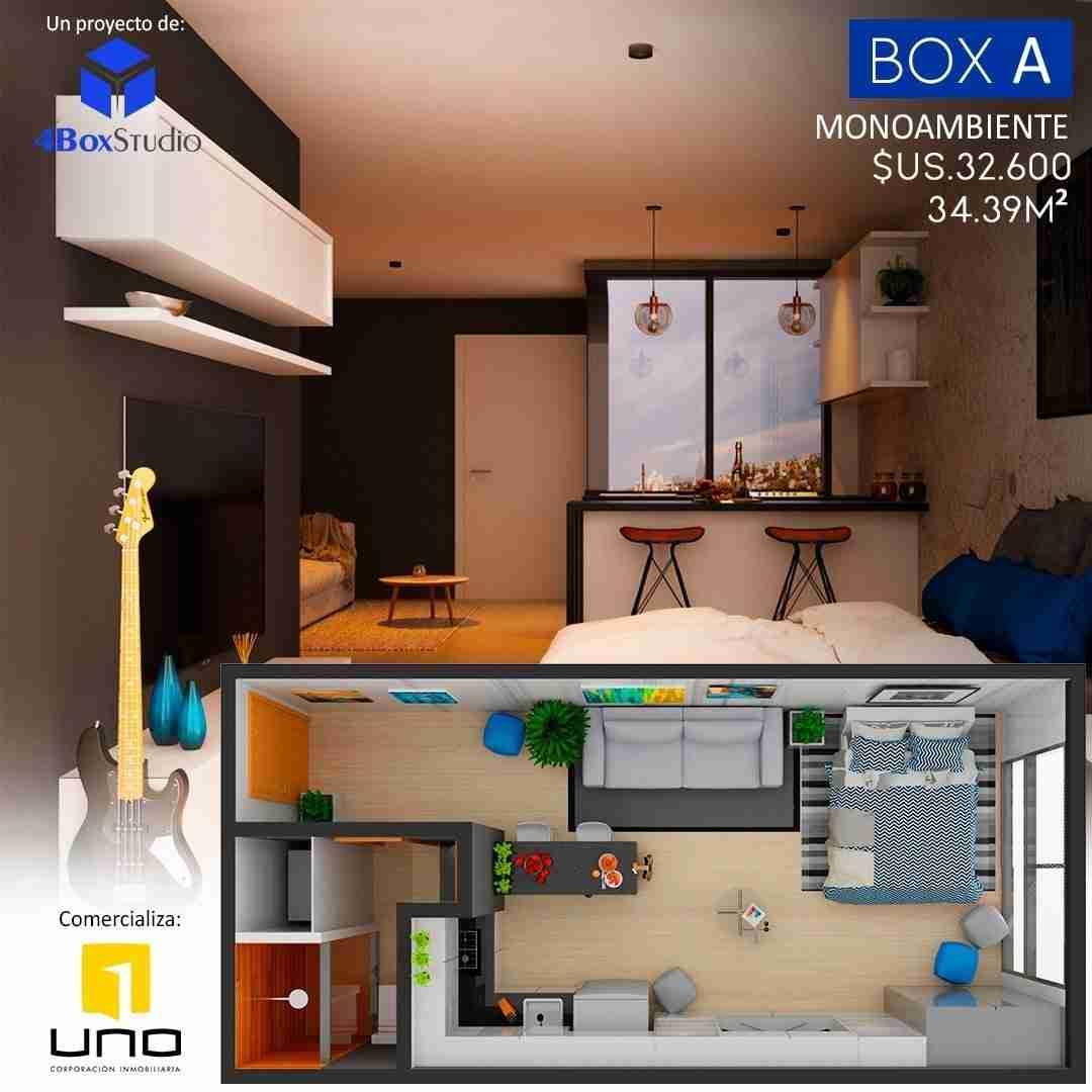 3 Box A, PreVenta Departamentos Monoambiente, 1 y 2 Dormitorios y Locales Comerciales Edificio Blue Box, Av Banzer, Zona Norte