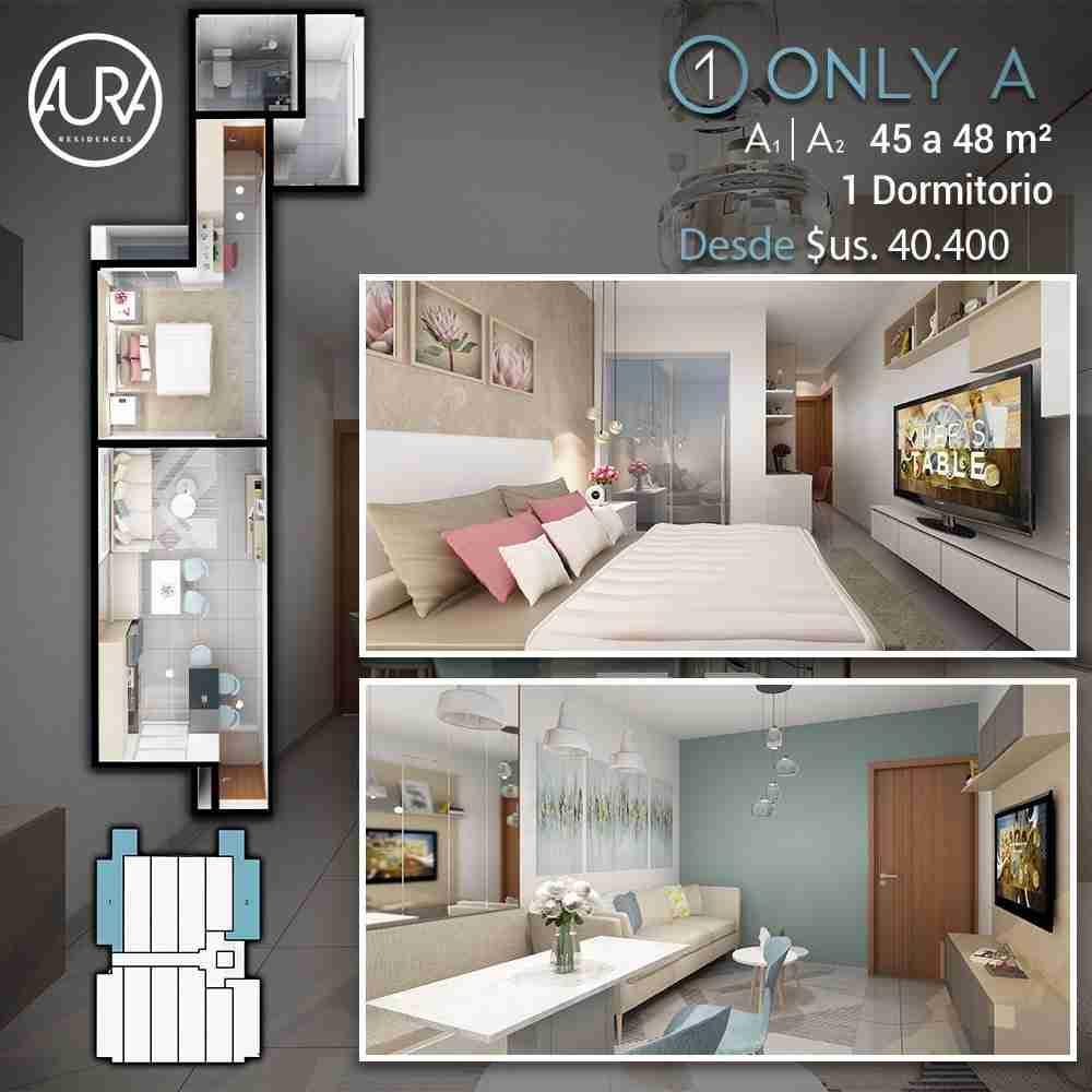4 Edificio Aura Residences,Departametos y Locales Comerciales en Pre Venta, Barrio Equipetrol Norte, Santa Cruz, Bolivia