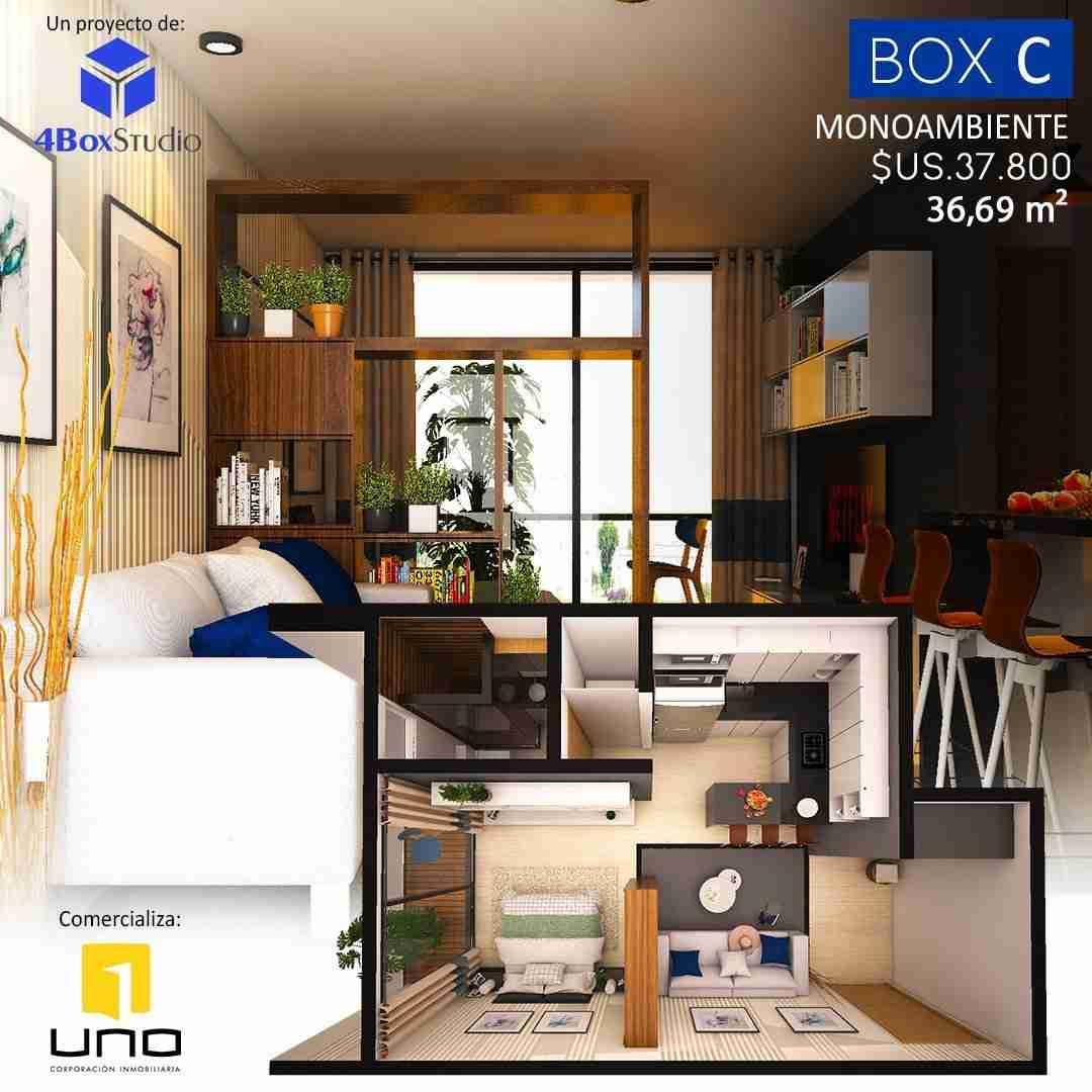 5 Box C, PreVenta Departamentos Monoambiente, 1 y 2 Dormitorios y Locales Comerciales Edificio Blue Box, Av Banzer, Zona Norte