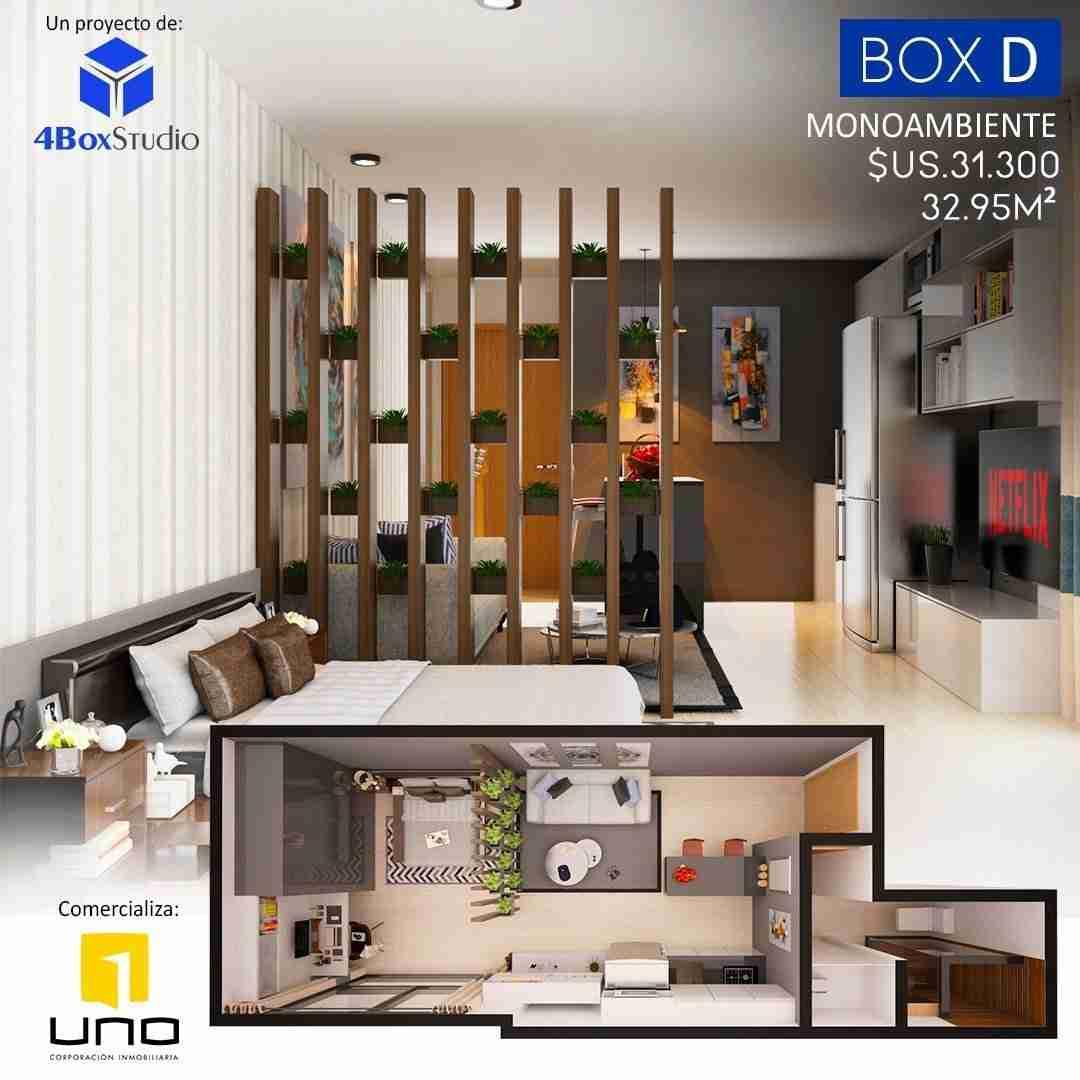 6 Box D, PreVenta Departamentos Monoambiente, 1 y 2 Dormitorios y Locales Comerciales Edificio Blue Box, Av Banzer, Zona Norte