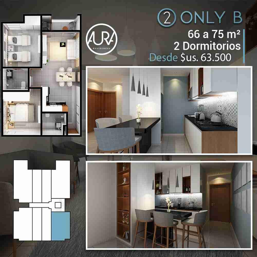 6 Edificio Aura Residences,Departametos y Locales Comerciales en Pre Venta, Barrio Equipetrol Norte, Santa Cruz, Bolivia