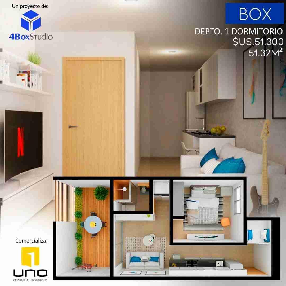 6. Box, Departamentos Monoambiente, 1 y 2 Dormitorios y Locales Comerciales Edificio Blue Box, Av Banzer, Zona Norte