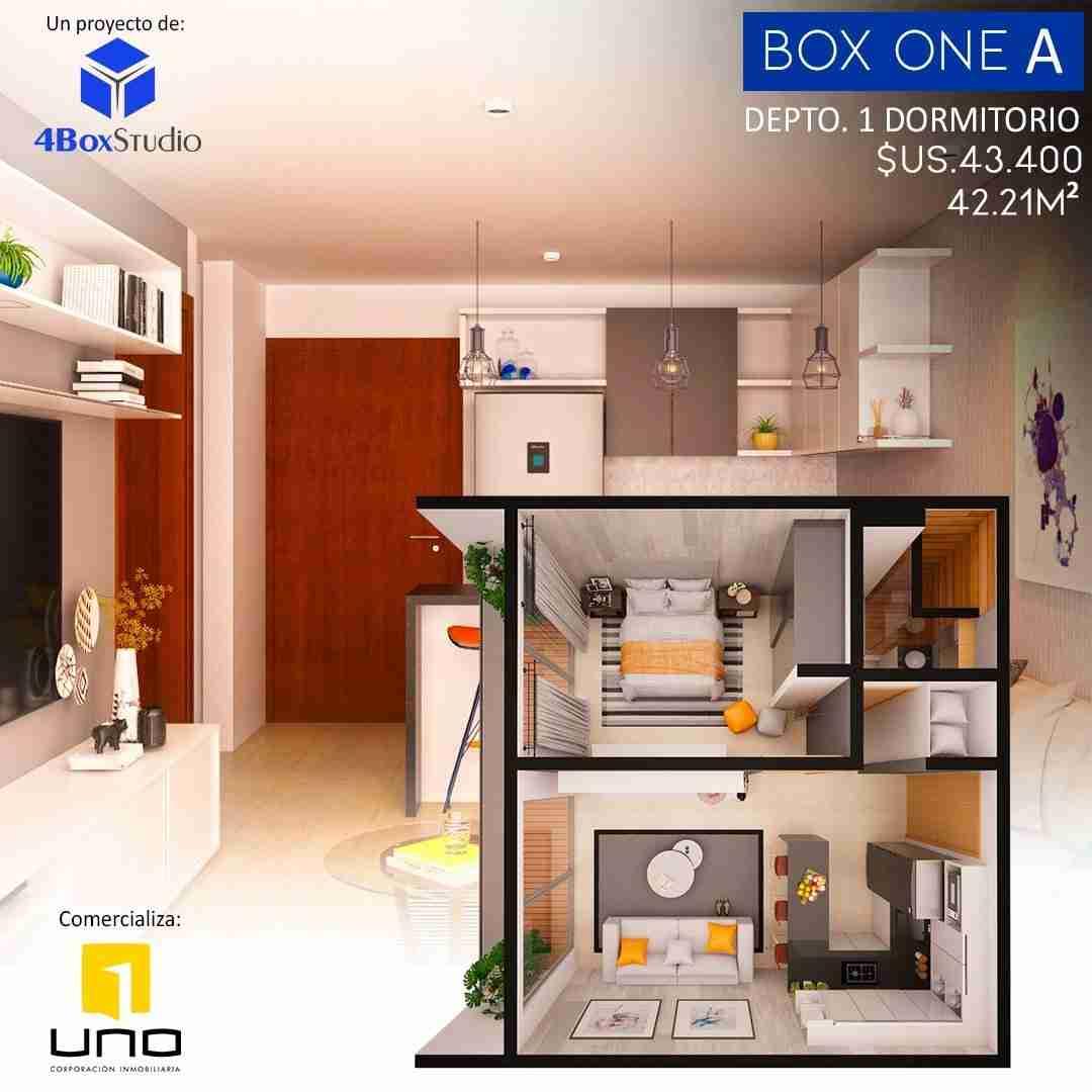7 Box One A, PreVenta Departamentos Monoambiente, 1 y 2 Dormitorios y Locales Comerciales Edificio Blue Box, Av Banzer, Zona Norte