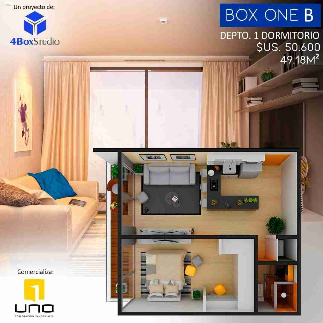 8 Box One B, PreVenta Departamentos Monoambiente, 1 y 2 Dormitorios y Locales Comerciales Edificio Blue Box, Av Banzer, Zona Norte