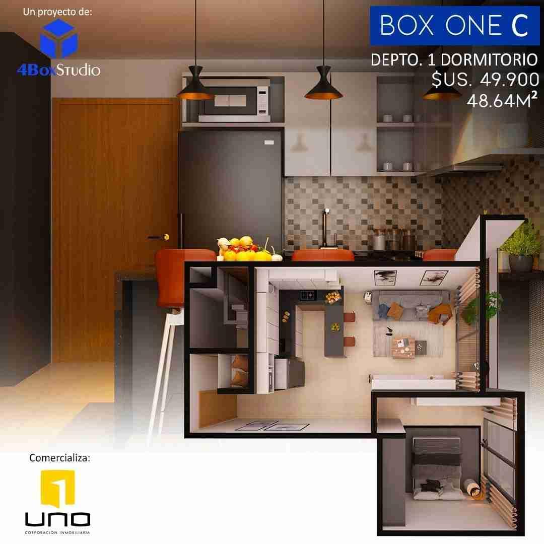 9 Box One C, PreVenta Departamentos Monoambiente, 1 y 2 Dormitorios y Locales Comerciales Edificio Blue Box, Av Banzer, Zona Norte