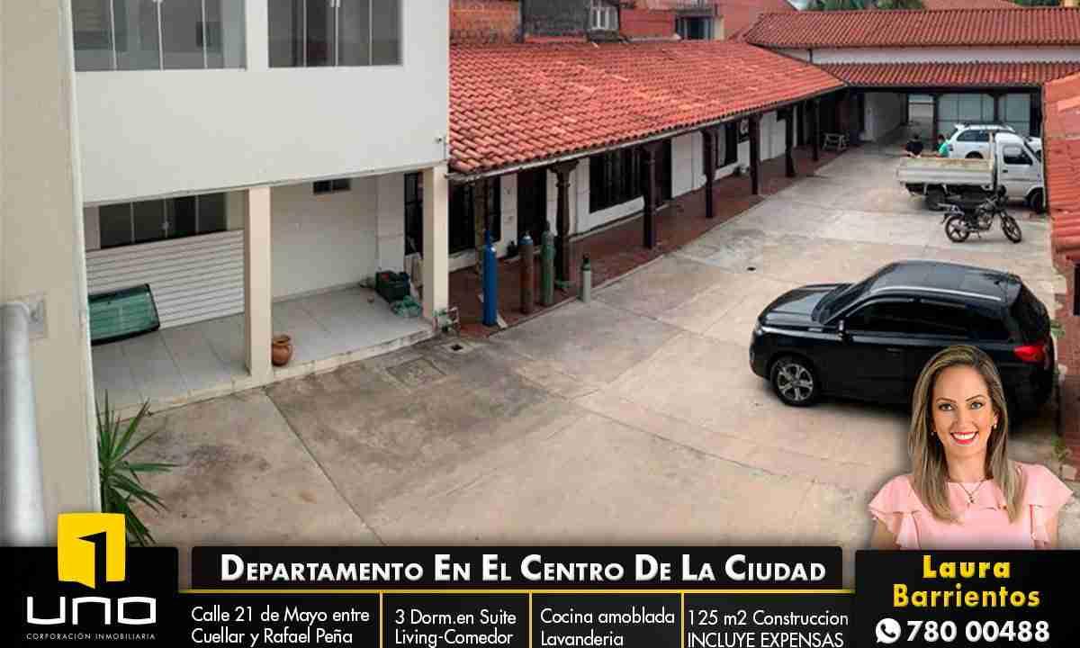 Alquiler Departamento de 3 dormitorios en el centro de la ciudad, Santa Cruz, Bolivia (1)