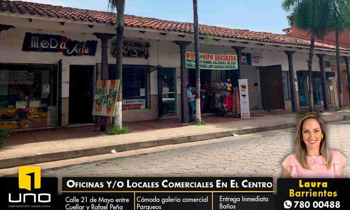 Alquiler de oficinas o locales comerciales en el centro, calle 21 de mayo, santa cruz, Bolivia (1)