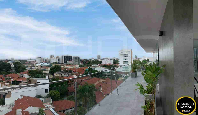 Venta de departamento de 2 dormitorios en Edificio Orange Residence, Zona Norte, Avenida Beni y Avenida Los Cusis, Calle los Pitones, Santa Cruz, Bolivia. (23)