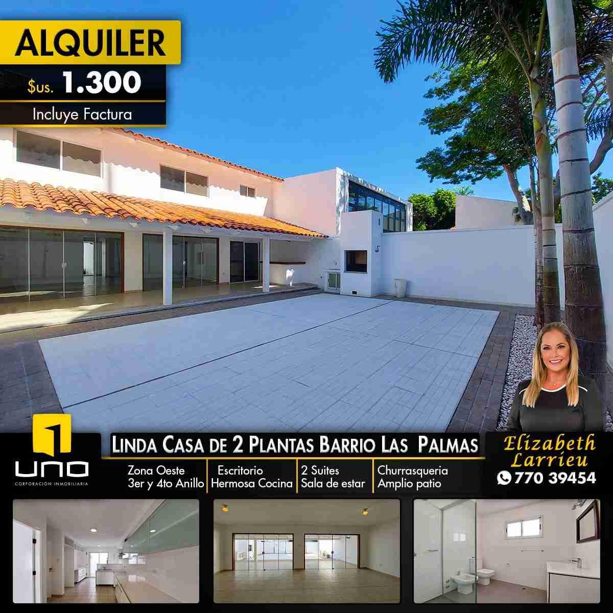 Moderna y elegante 2 plantas equipada Barrio Las Palmas