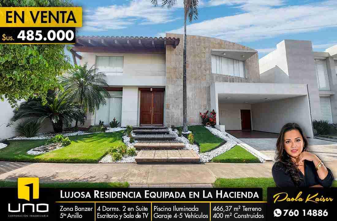 Lujosa casa en venta, Condominio La Hacienda
