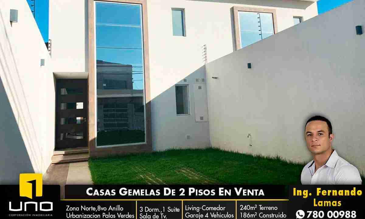 Casa de 2 pisos en Venta, Zona Norte, Avenida Beni, 8 Anillo, Santa Cruz, Bolivia (1)