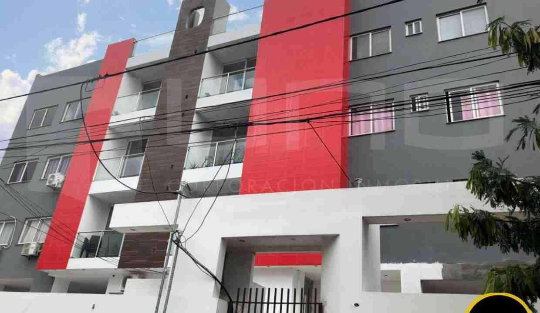Departamento en Anticretico de 2 Dormitorios, Zona Norte, entre avenida beni y alemana, en Condominio Barcelona 3 (2)