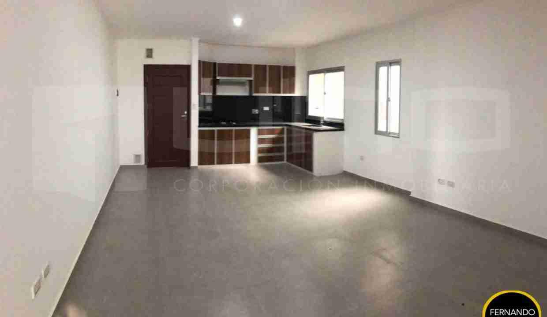 Departamento en Anticretico de 2 Dormitorios, Zona Norte, entre avenida beni y alemana, en Condominio Barcelona 3 (3)