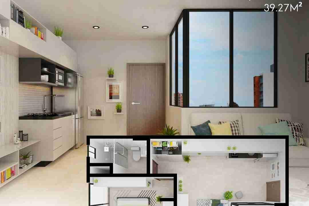PreVenta Departamentos Monoambiente, 1 y 2 y 3 Dormitorios y Locales Comerciales Edificio Blue Box, Av Banzer, Zona Norte (12)