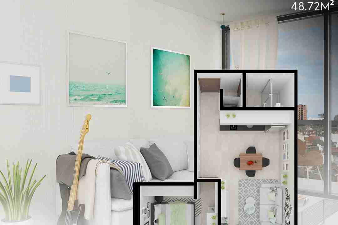 PreVenta Departamentos Monoambiente, 1 y 2 y 3 Dormitorios y Locales Comerciales Edificio Blue Box, Av Banzer, Zona Norte (17)