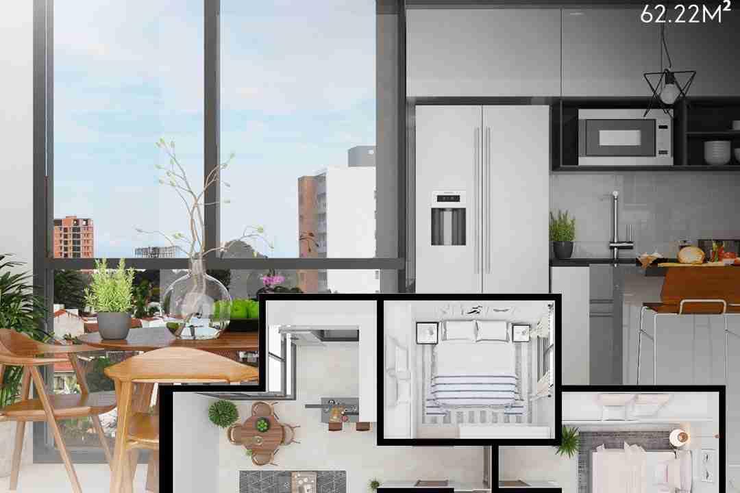 PreVenta Departamentos Monoambiente, 1 y 2 y 3 Dormitorios y Locales Comerciales Edificio Blue Box, Av Banzer, Zona Norte (18)