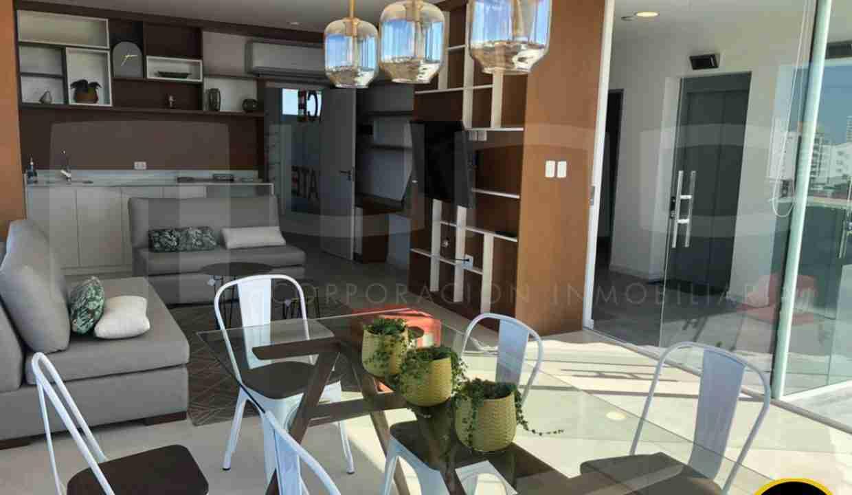 Alquiler departamento 1 dormitorio con expensas en Edificio Orange Residence, zona Norte, Santa Cruz, Bolivia (13)