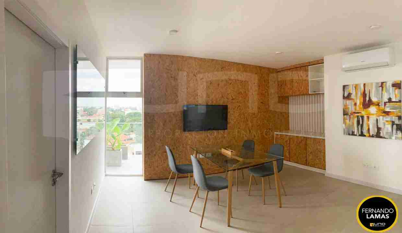 Alquiler departamento 1 dormitorio con expensas en Edificio Orange Residence, zona Norte, Santa Cruz, Bolivia (14)