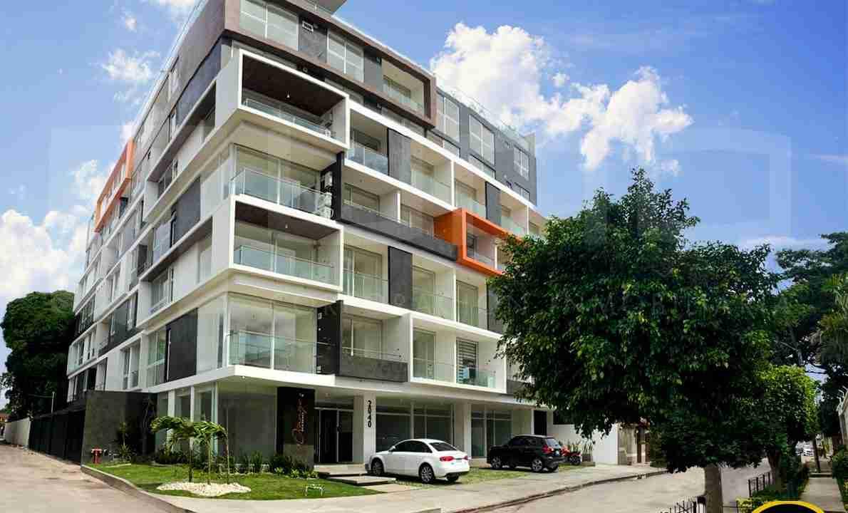Alquiler departamento 1 dormitorio con expensas en Edificio Orange Residence, zona Norte, Santa Cruz, Bolivia (2)