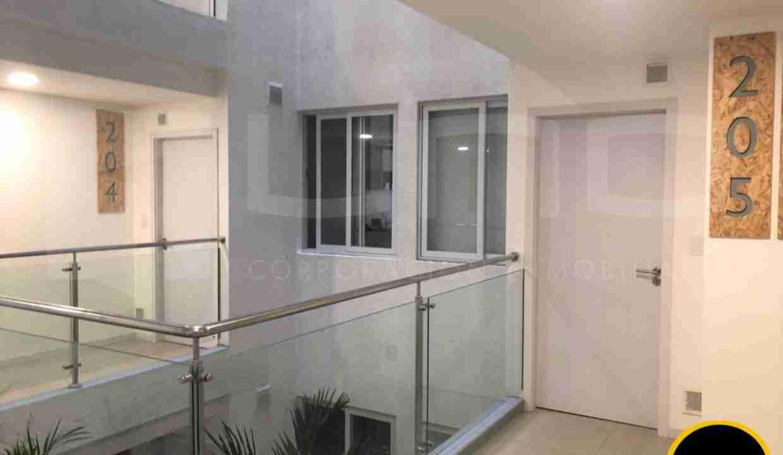 Alquiler departamento 1 dormitorio con expensas en Edificio Orange Residence, zona Norte, Santa Cruz, Bolivia (4)