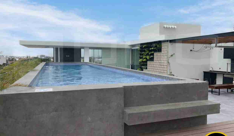 Alquiler departamento 1 dormitorio con expensas en Edificio Orange Residence, zona Norte, Santa Cruz, Bolivia (9)