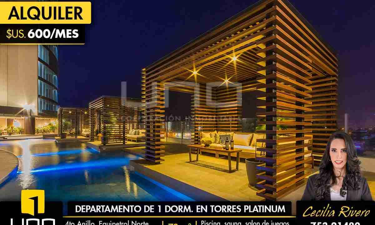 Departamento en alquiler en Torres Platinum II 0
