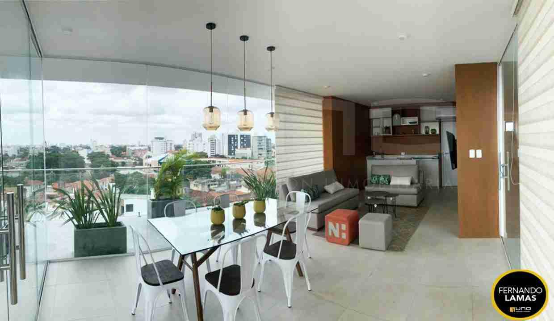 Venta de departamento de 2 dormitorios en Edificio Orange Residence, Zona Norte, Avenida Beni y Avenida Los Cusis, Calle los Pitones, Santa Cruz, Bolivia. (16)