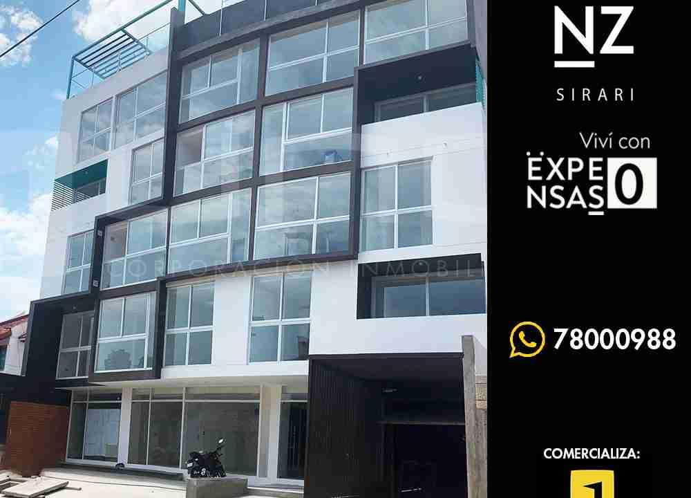 Venta de departamentos en Sirari, Equipetrol, Edificio Genz Sirari, Santa Cruz, Bolivia (1)1 - copia