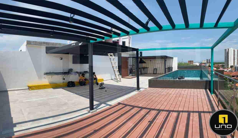 Venta de departamentos en Sirari, Equipetrol, Edificio Genz Sirari, Santa Cruz, Bolivia (5) - copia